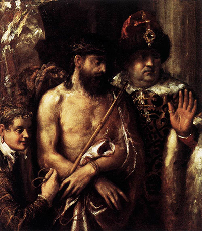 Mocking of Christ Titian
