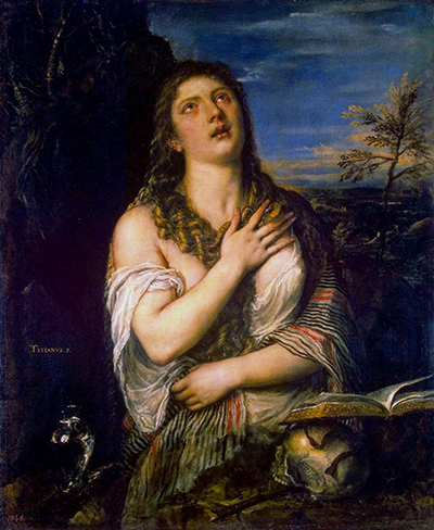 Penitent St Mary Magdalene Titian