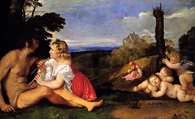 The Three Ages of Man Titian